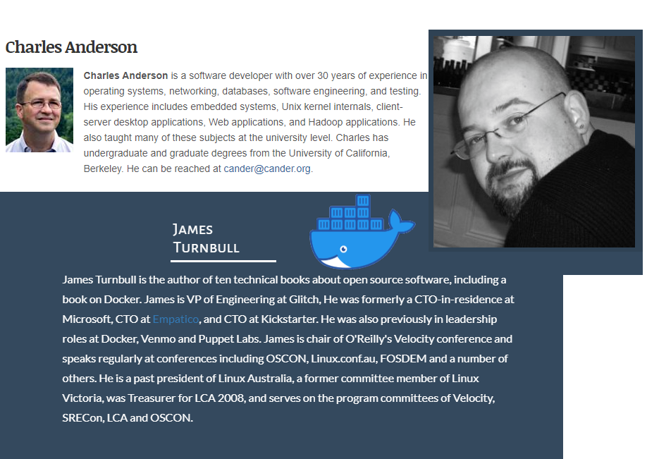 مصاحبه چارلز اندرسون با جیمز ترنبل درباره Docker